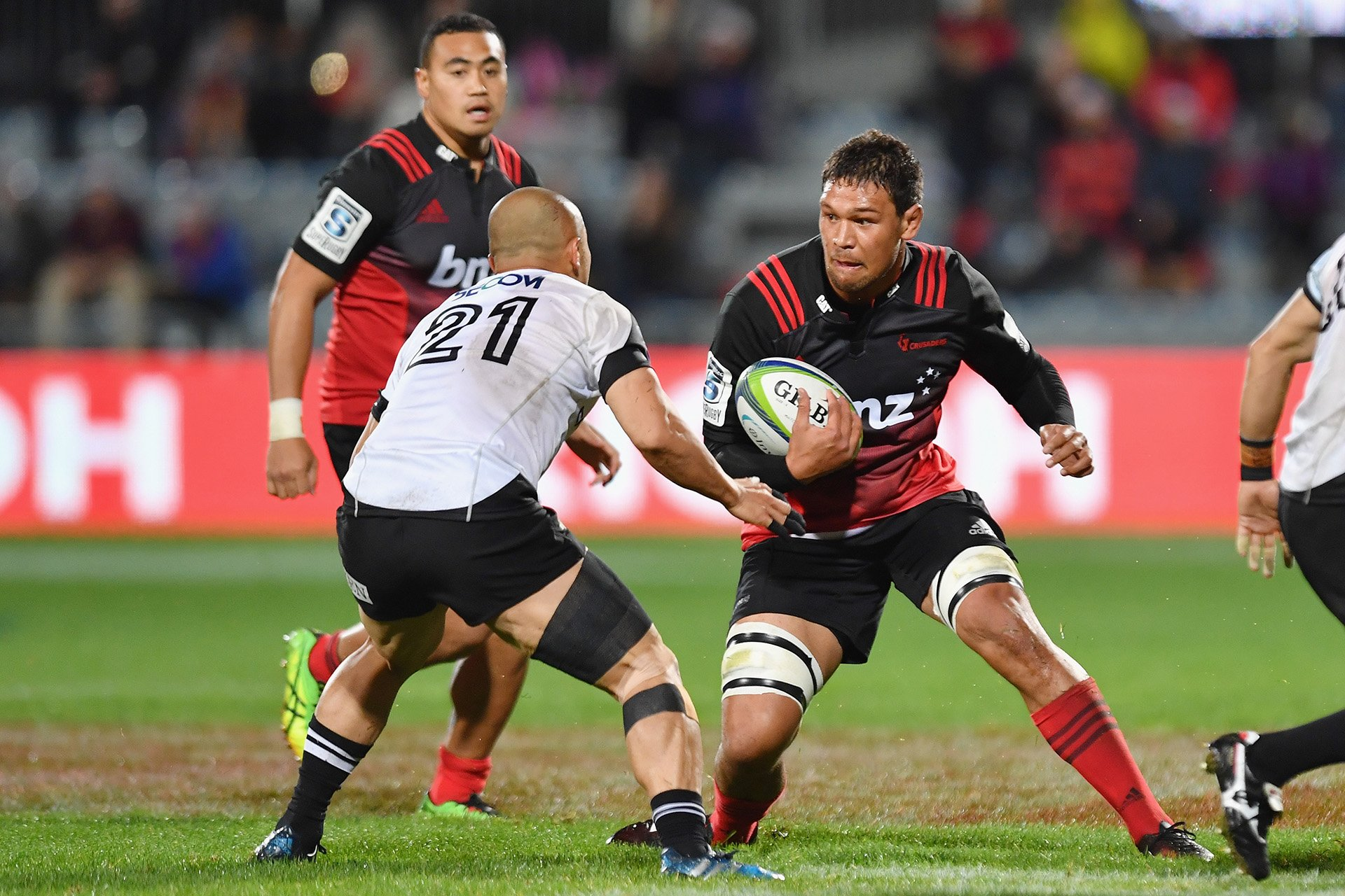 Crusaders name dual-XVs for warm-up match with Hurricanes