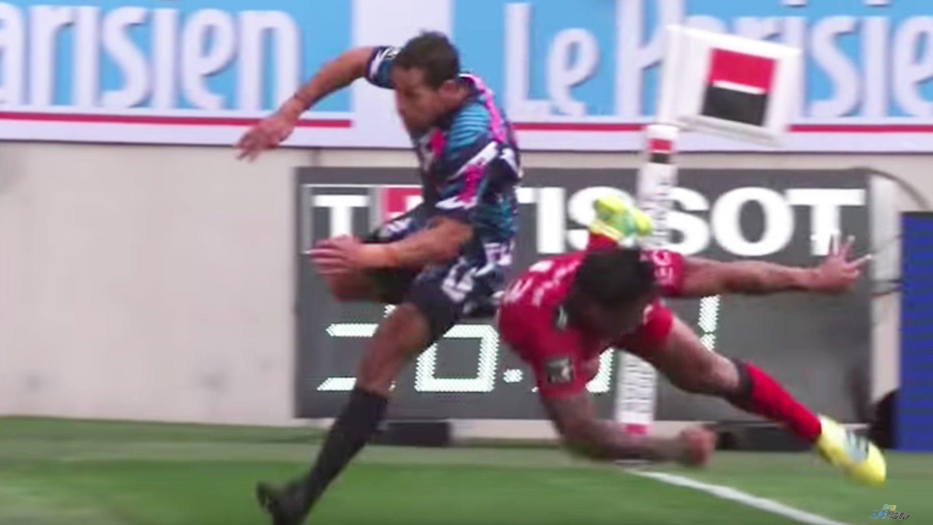 Watch: Malakai Fekitoa's superb reflex try assist for Josua Tuisova
