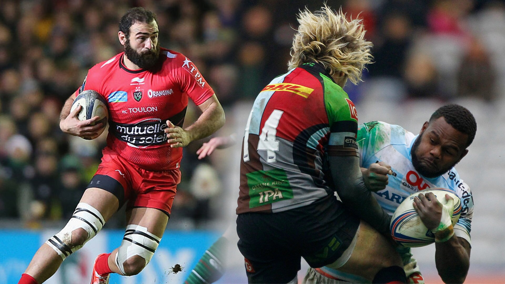 All seven Top 14 clubs and their injuries ahead of the opening Champions Cup weekend