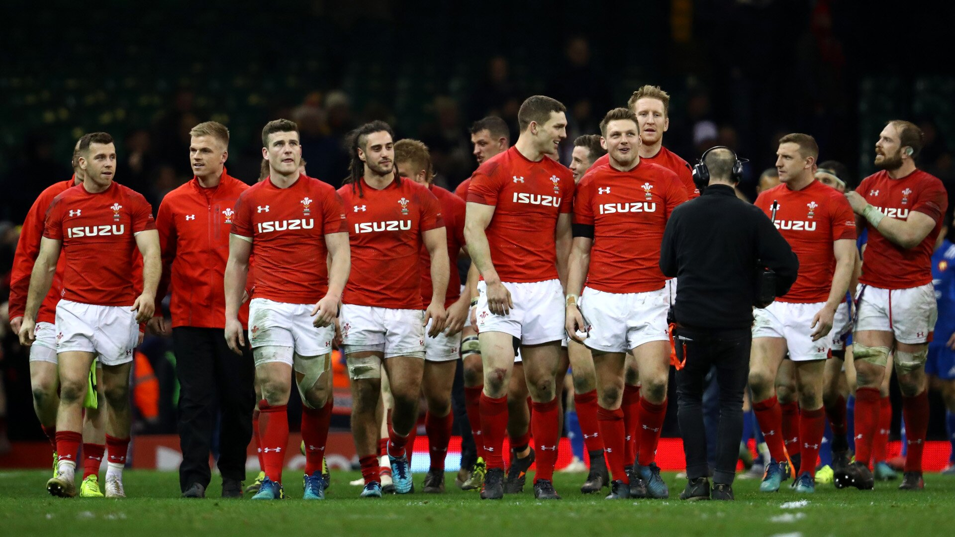 Wales team to play Australia named