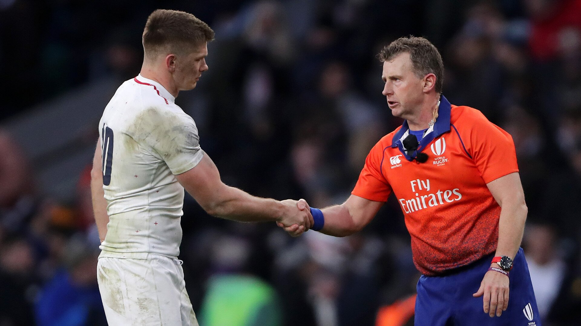 Nigel Owens' questionable handling of the Sinckler incident wasn't the only example of ref inconsistency this weekend