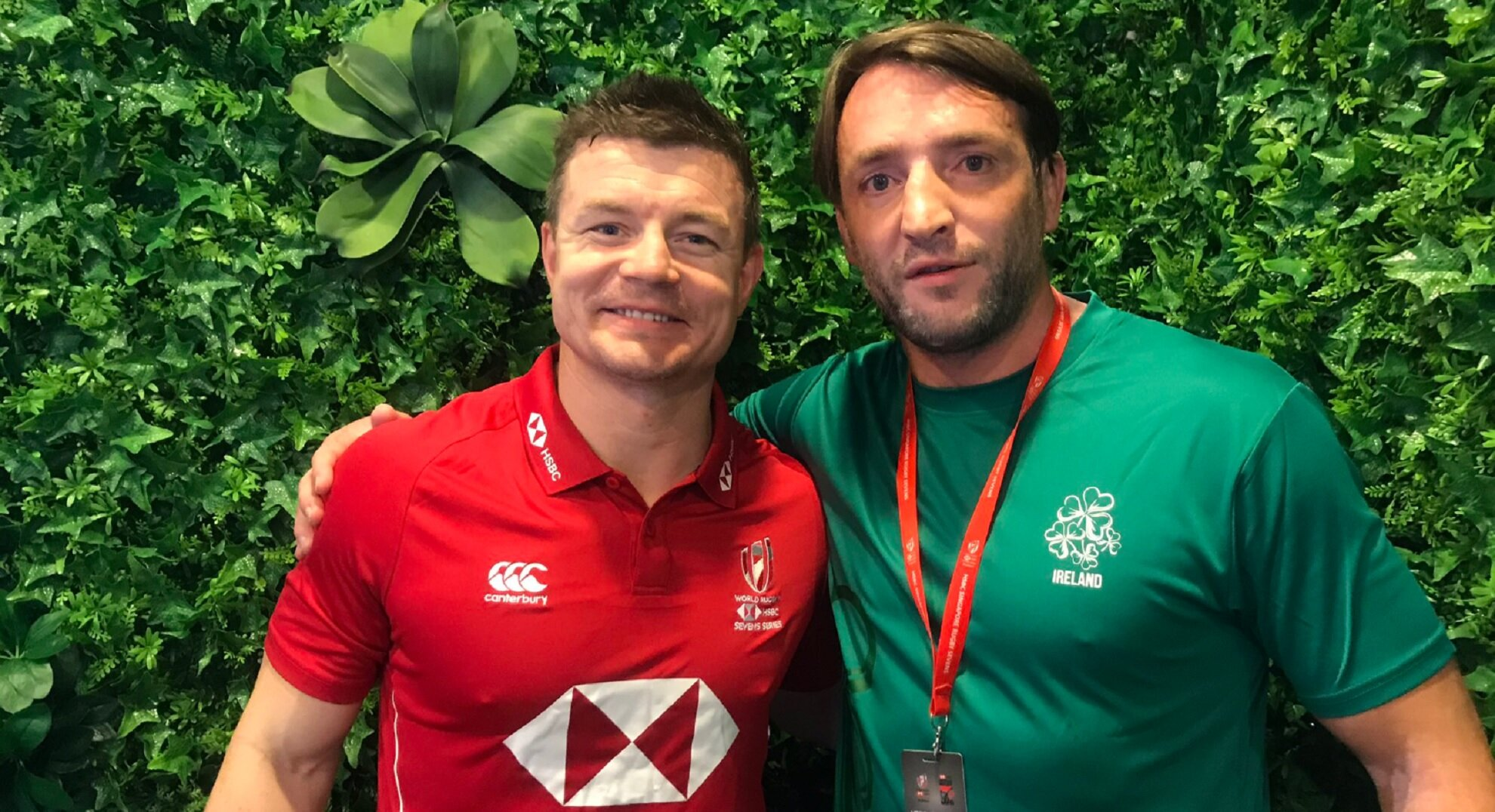 In search of BOD - Neil Best at the Singapore Sevens