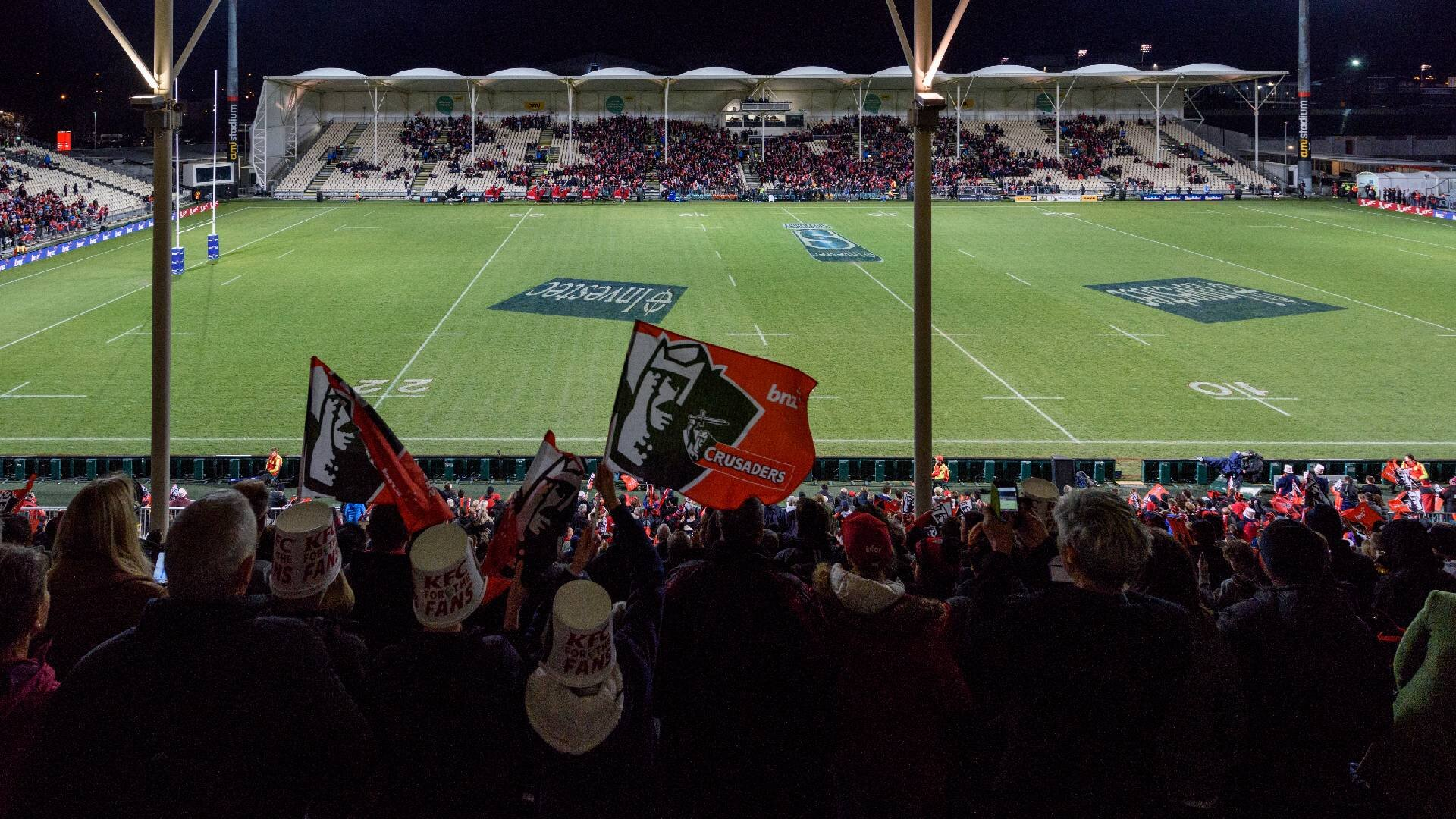 Crusaders preparing to welcome back fans for their first Super Rugby Aotearoa match in Christchurch