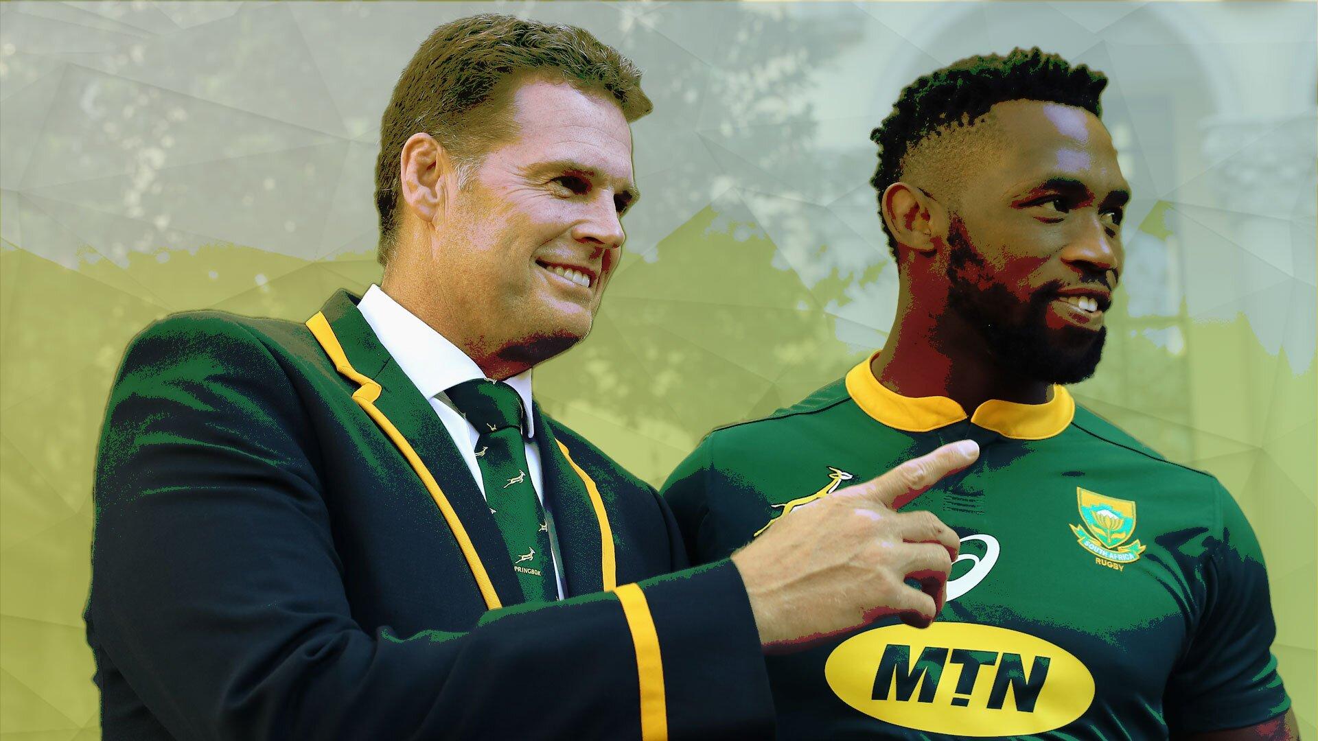 The strange reason why Siya Kolisi was made Springboks captain