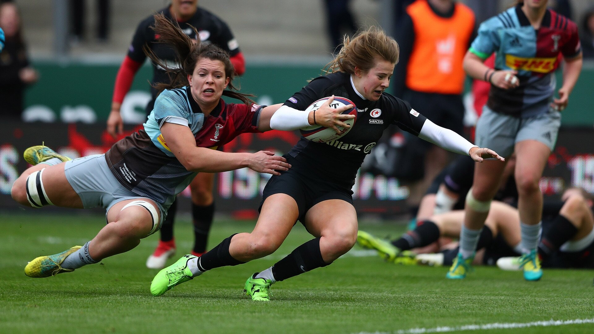 'If you haven't seen women's rugby and you don't actually know about it, that is annoying'