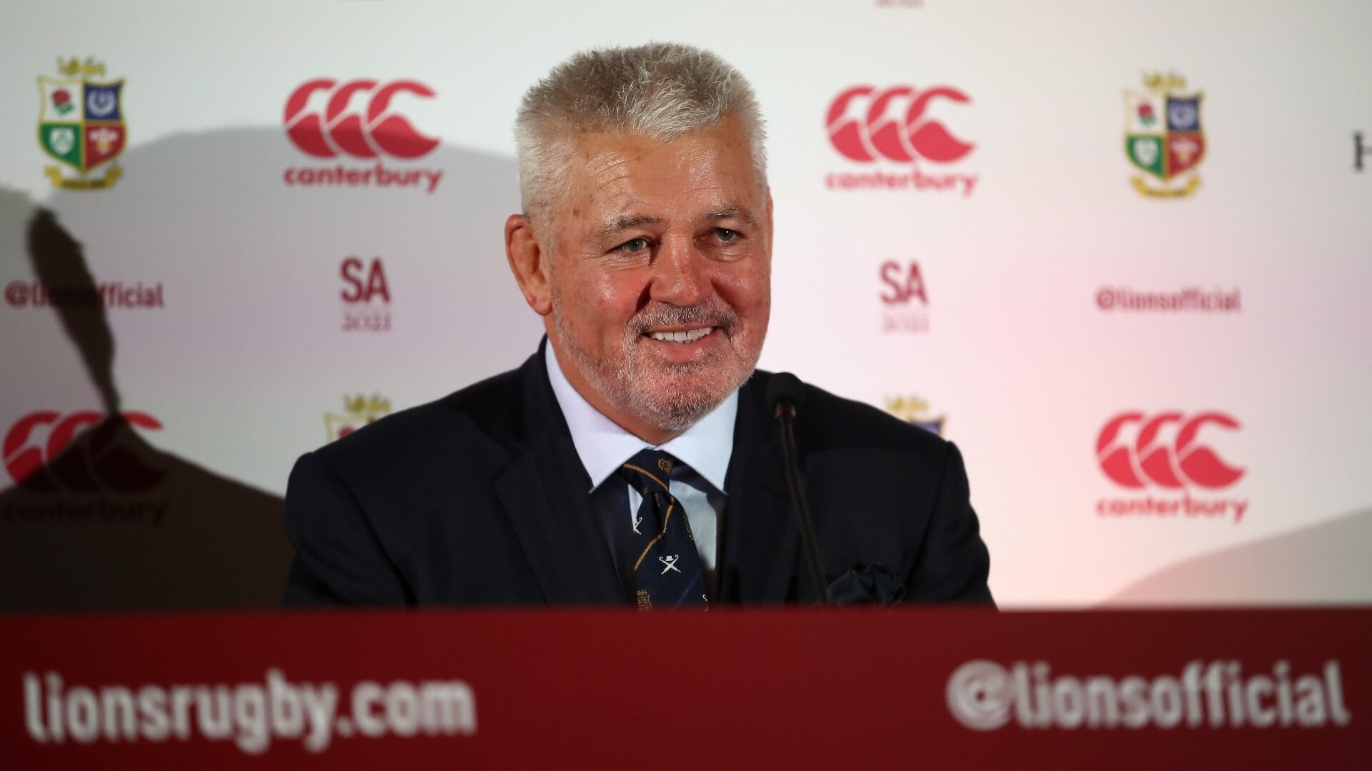 Warren Gatland cautiously optimistic about mooted competition: 'Sometimes under crisis there's an opportunity to fix things.'