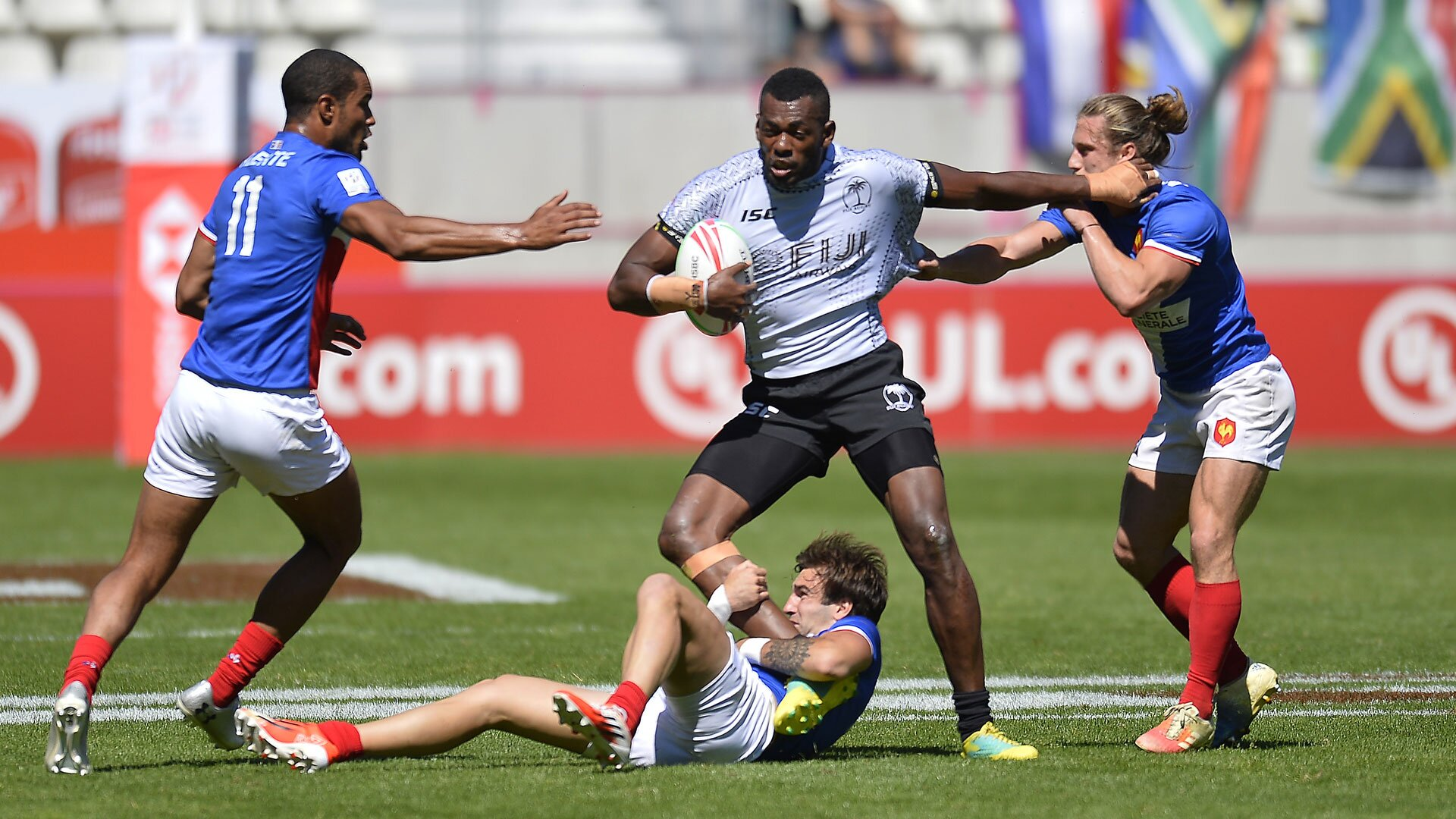 Fiji could jump ahead of France in World Rankings after weekend matches