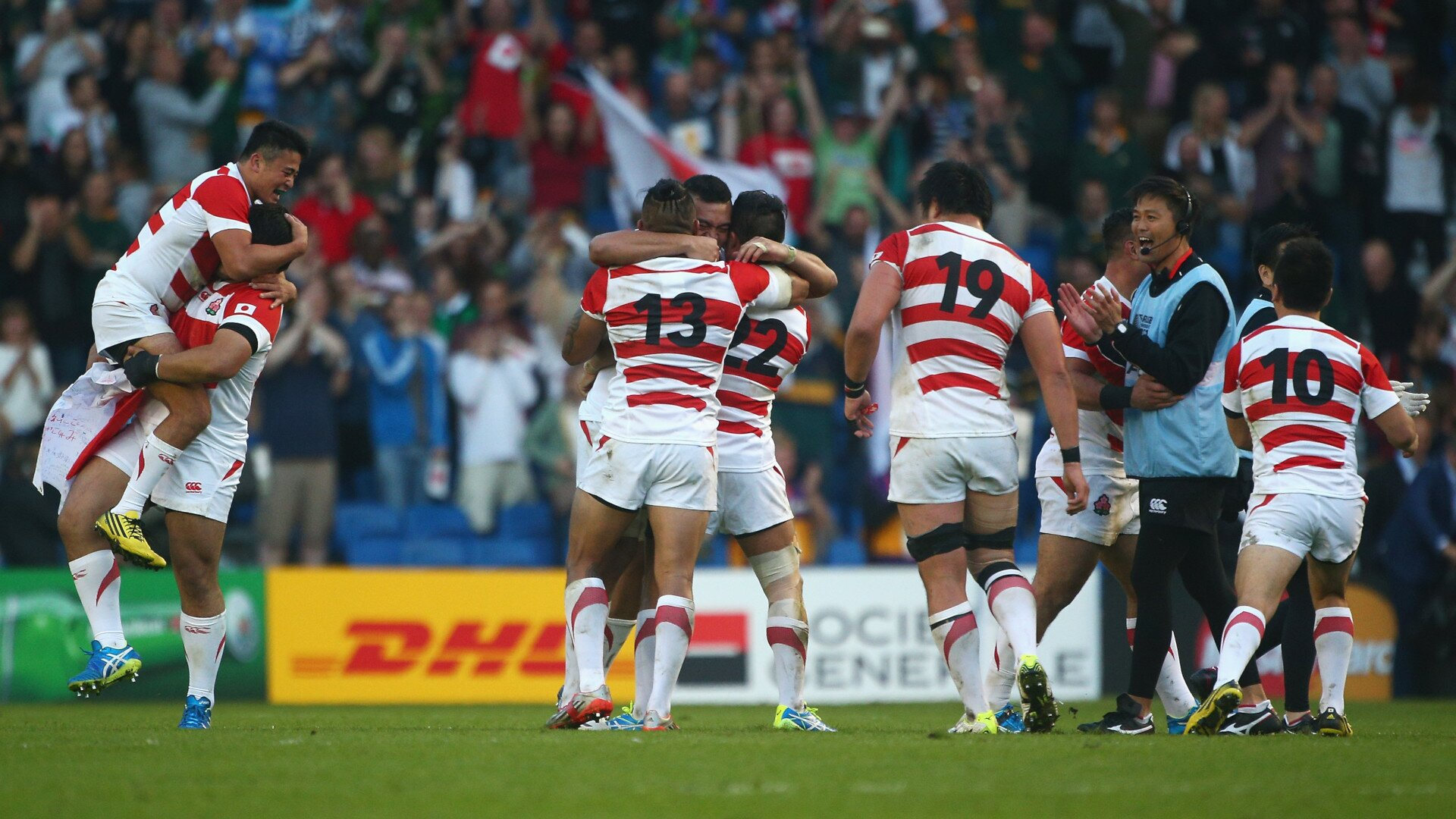 On This Day in 2015: Japan pull off biggest shock in Rugby World Cup history
