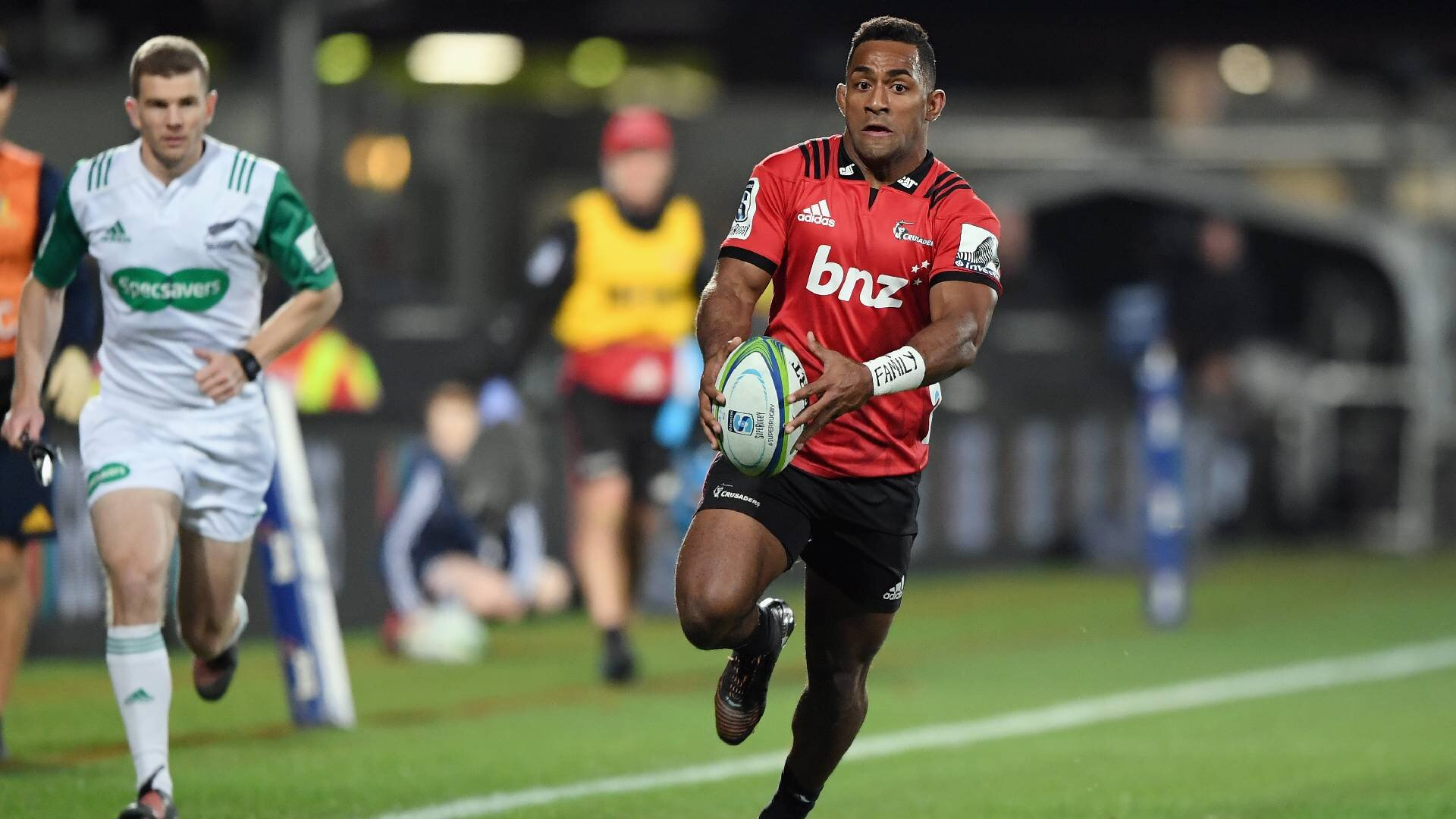 Sevu Reece extends contract with New Zealand Rugby and the Crusaders