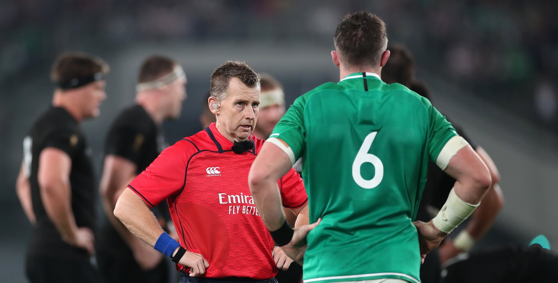 'Ridiculous call' - Ireland fans not impressed by 'strange' Nigel Owen's TMO intervention