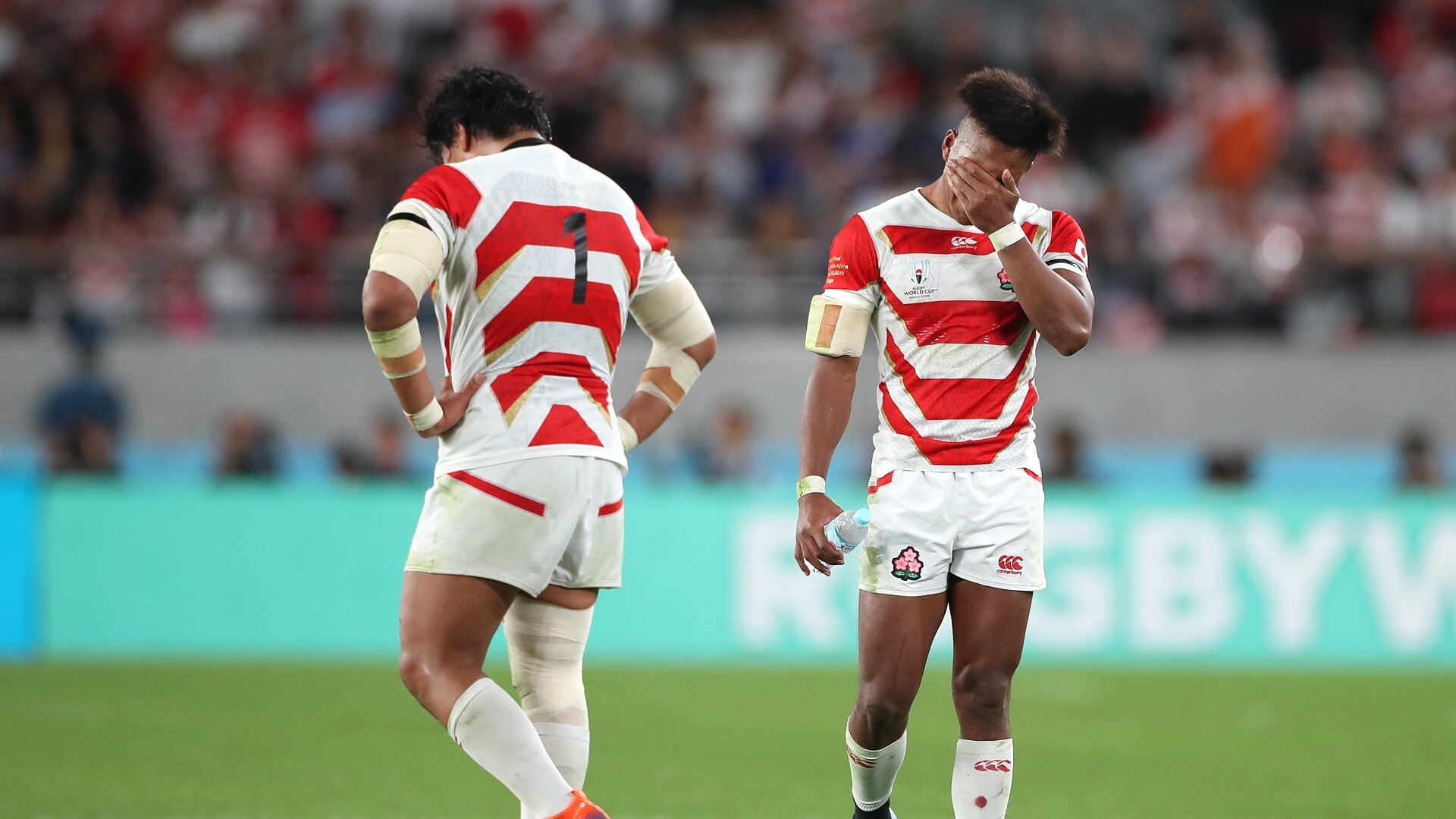 Japan's World Cup dream over as powerful South Africa prove a step too far