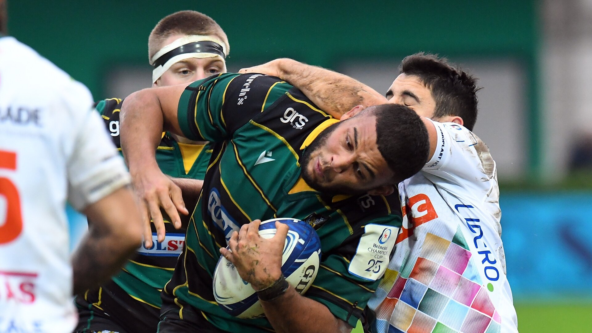 Last-ditch Biggar penalty edges Northampton to win in Italy