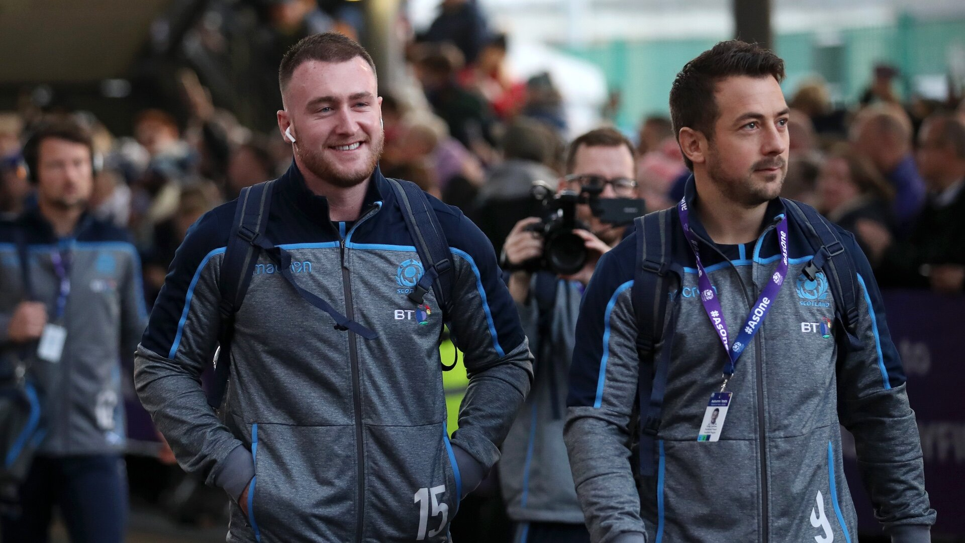 Stuart Hogg leads the praise as Scotland players react to Greig Laidlaw's retirement