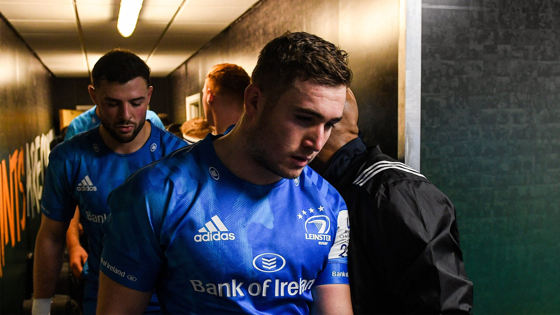 Larmour ruled out for 16 weeks as Lowe to remain with Ireland squad