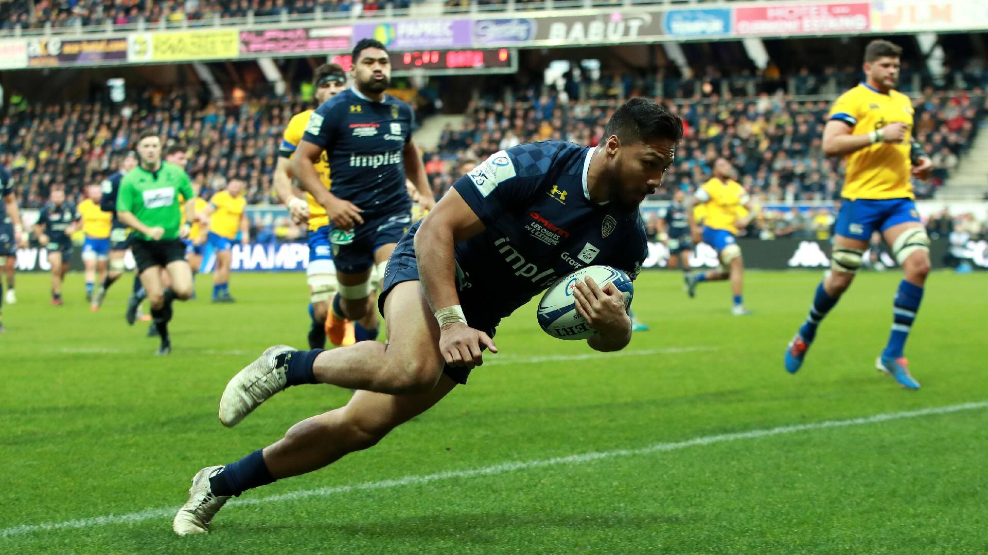 Kiwis in Europe: George Moala pick of the bunch in commanding performance for Clermont
