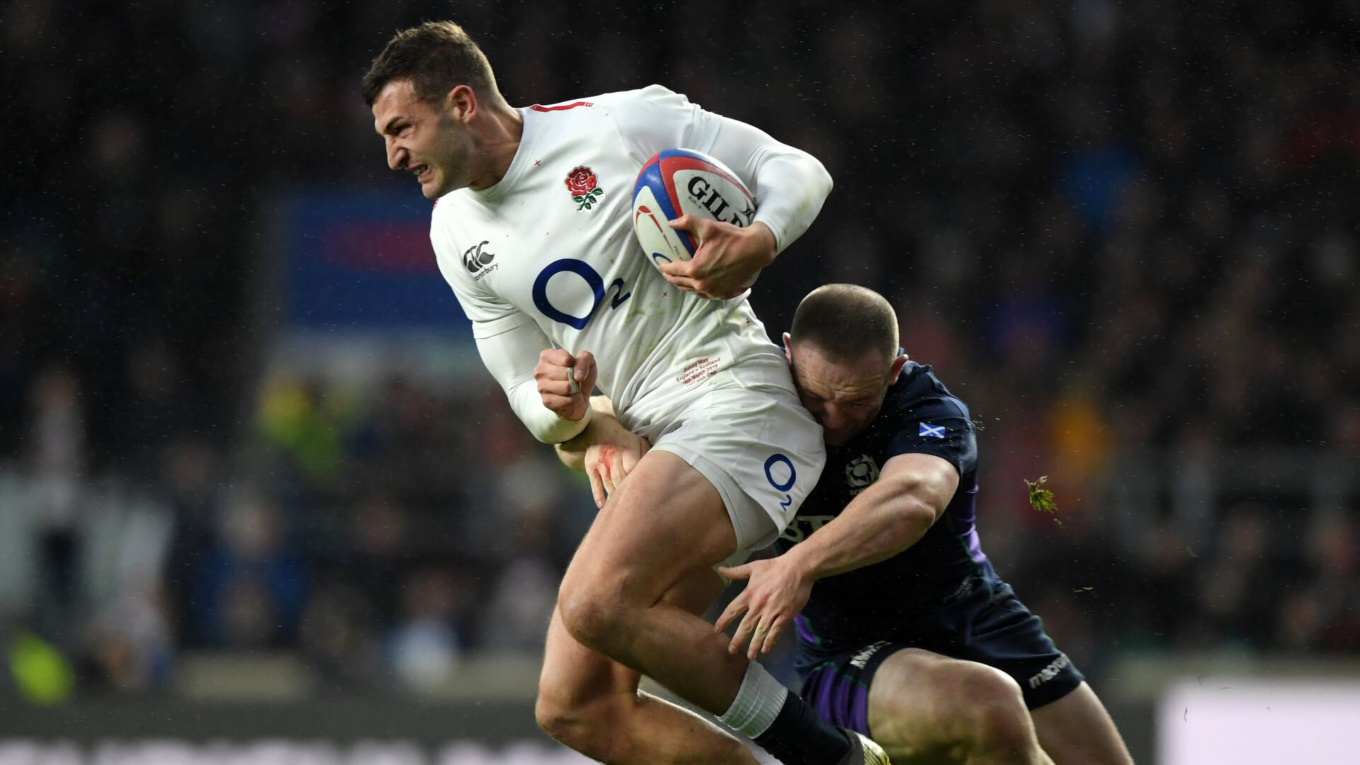 Phone call from coach convinced Scotland centre to stay put