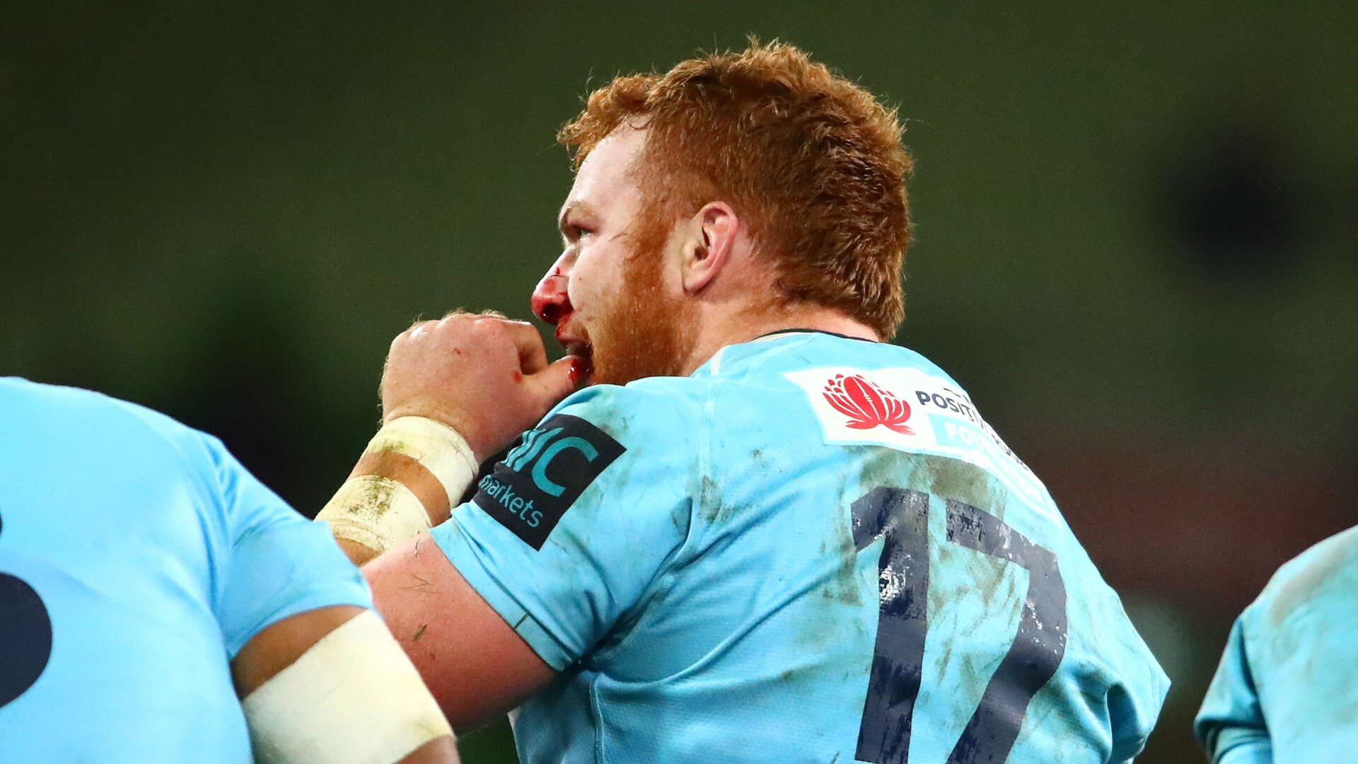 How Waratahs props are training scrums amid social distancing rules