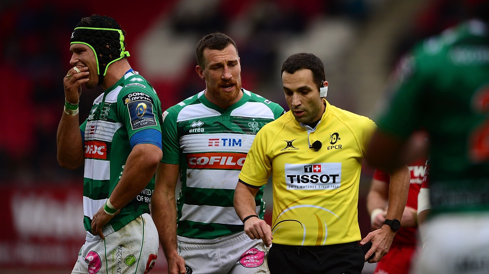 Benetton's Challenge Cup game against Agen cancelled