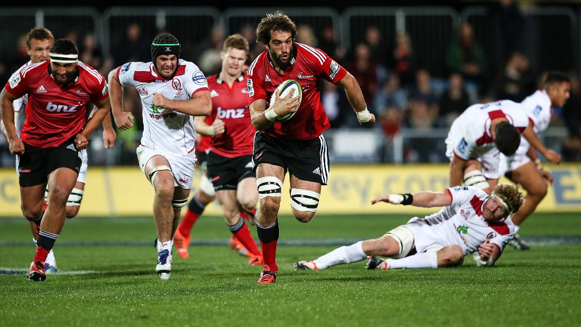 The scarcely believable 60m Sam Whitelock try that had Super Rugby in awe