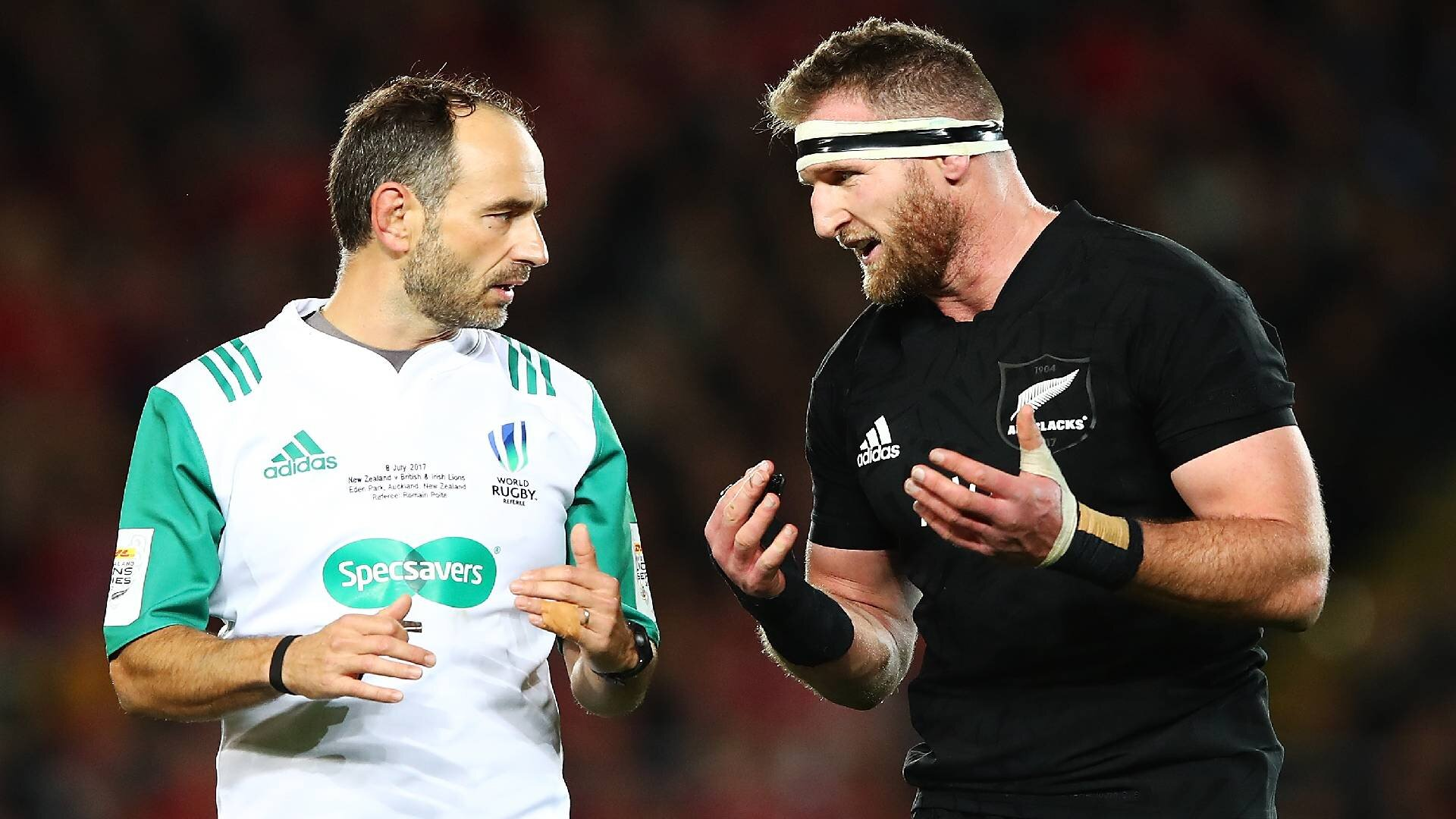 The British and Irish Lions star Kieran Read didn't talk to for two years following infamous drawn All Blacks series