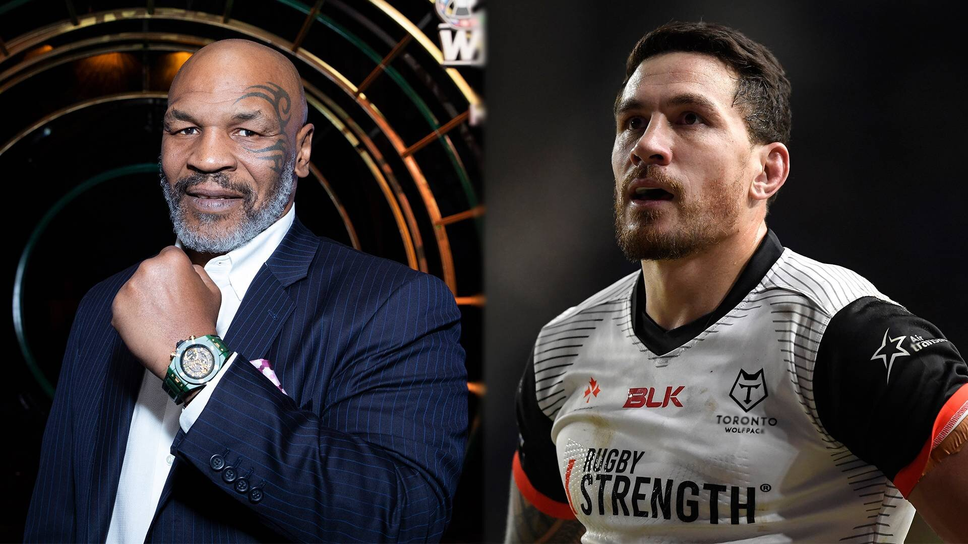 'Totally false': Mike Tyson speaks out about Sonny Bill Williams charity fight reports