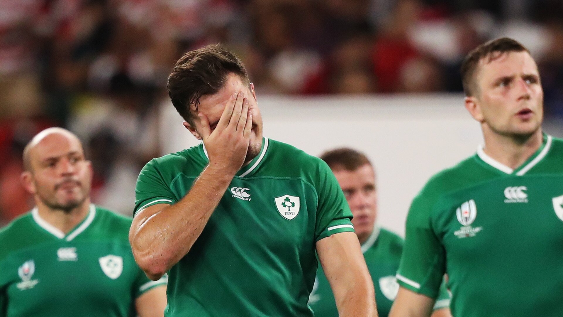 Jacob Stockdale received death threats after Ireland World Cup exit