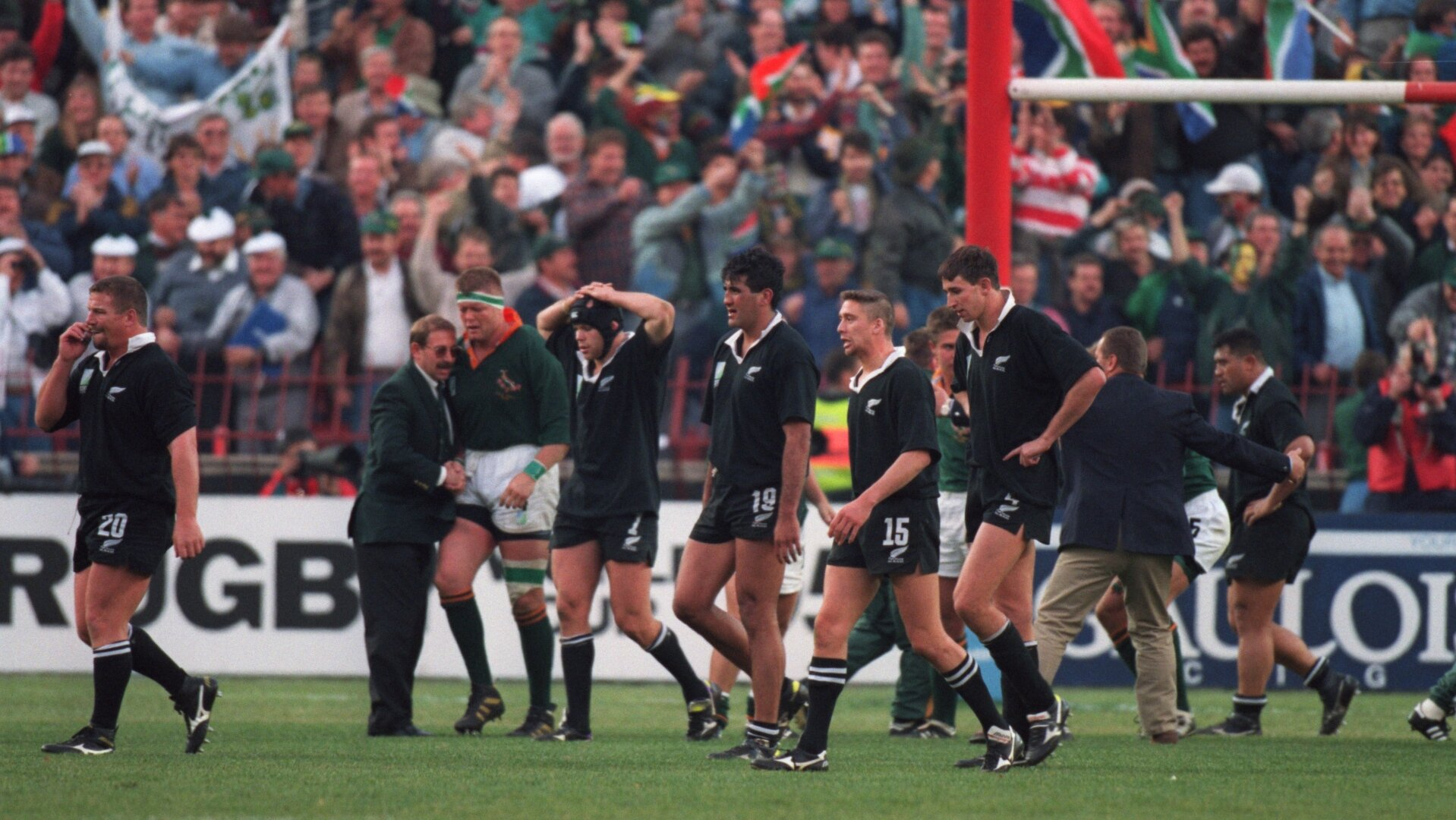 Where are they now? The All Blacks team 25 years after their 1995 World Cup final defeat