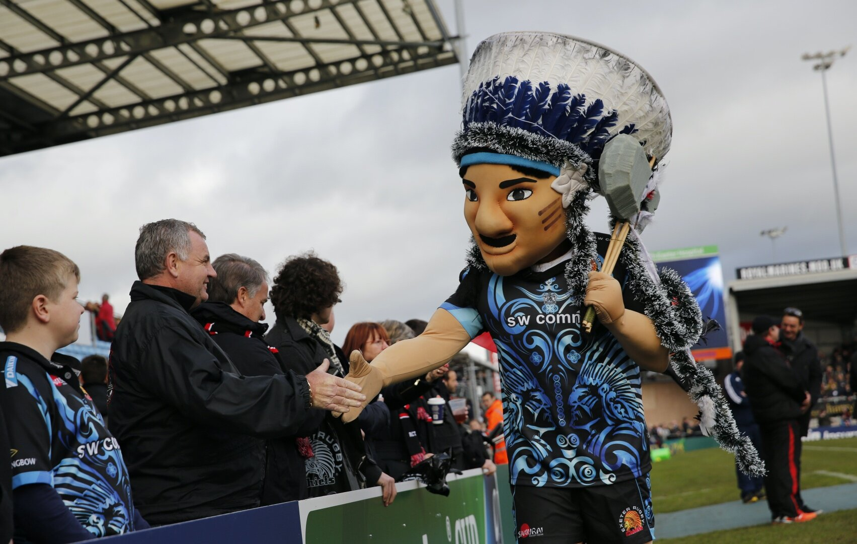 Exeter Chiefs' iconic chant to be left out by BT Sport fake crowd noise for Rugby Restart