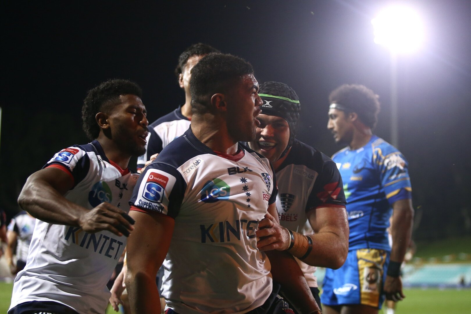Rebels see off Western Force in Super Time after heated encounter
