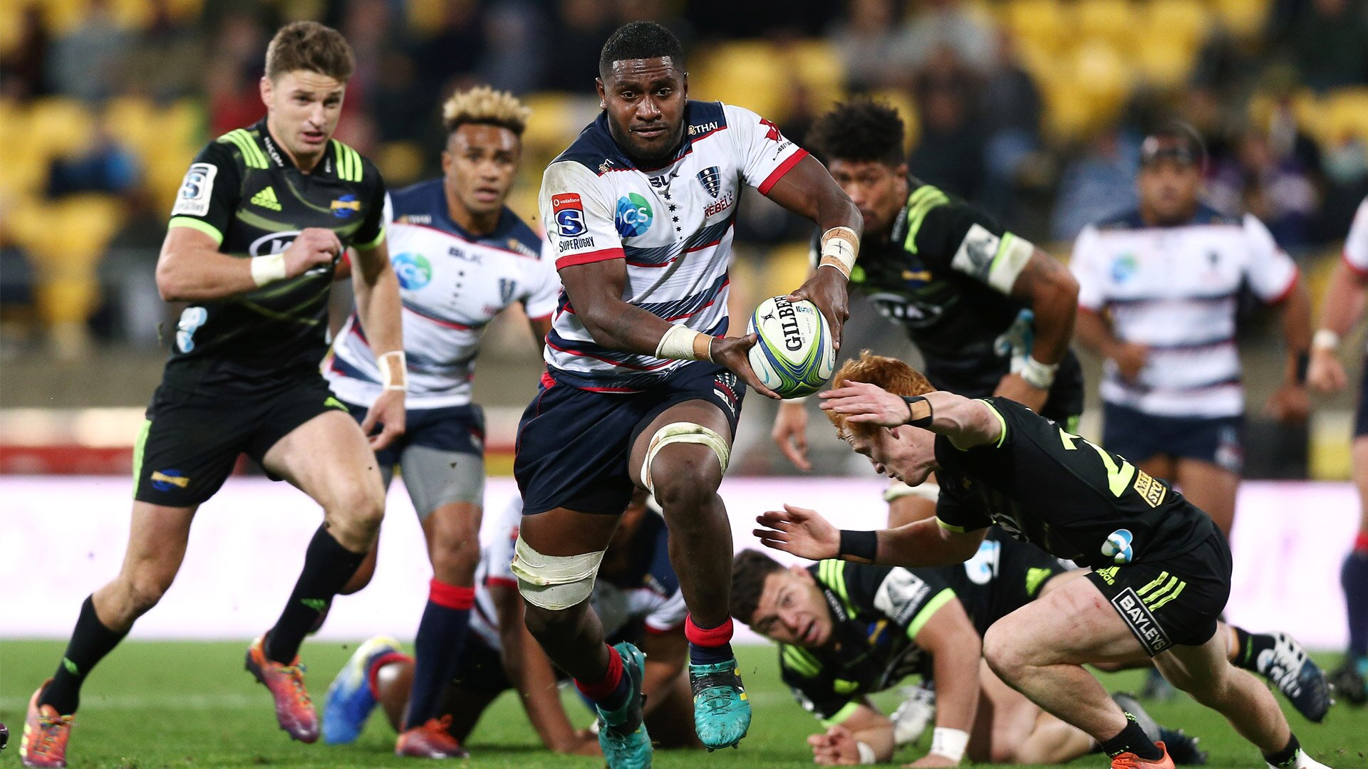 Isi Naisarani storms back into the Wallabies selection picture following 50th Super Rugby match