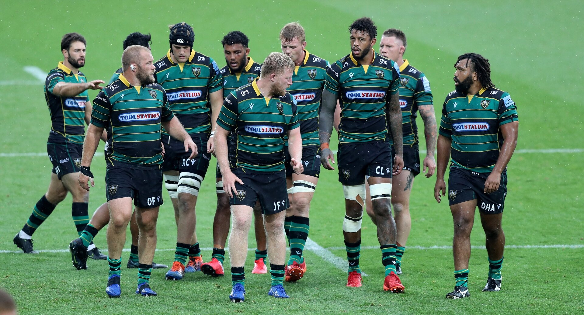 Northampton change entire XV for the visit of Bath, who include long-term absentee Max Clarke