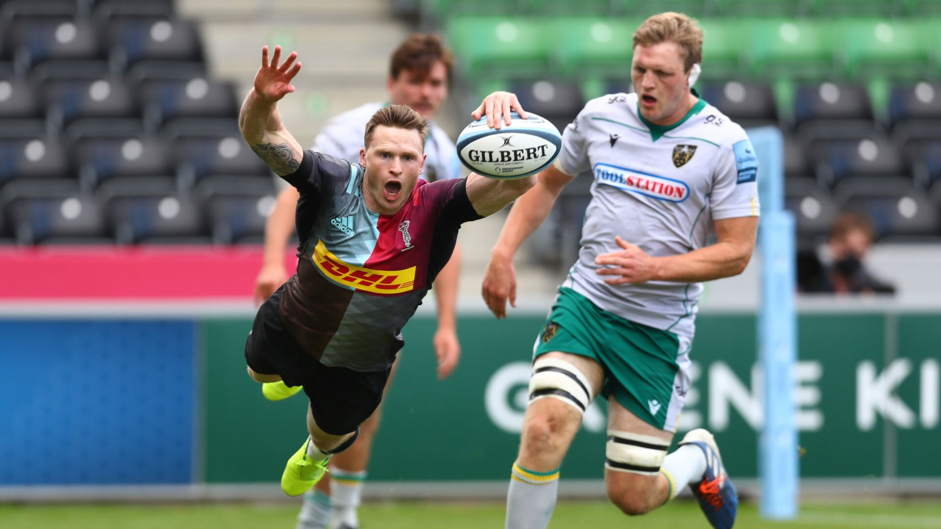 Forgotten England contingent inspire Harlequins to victory over Northampton