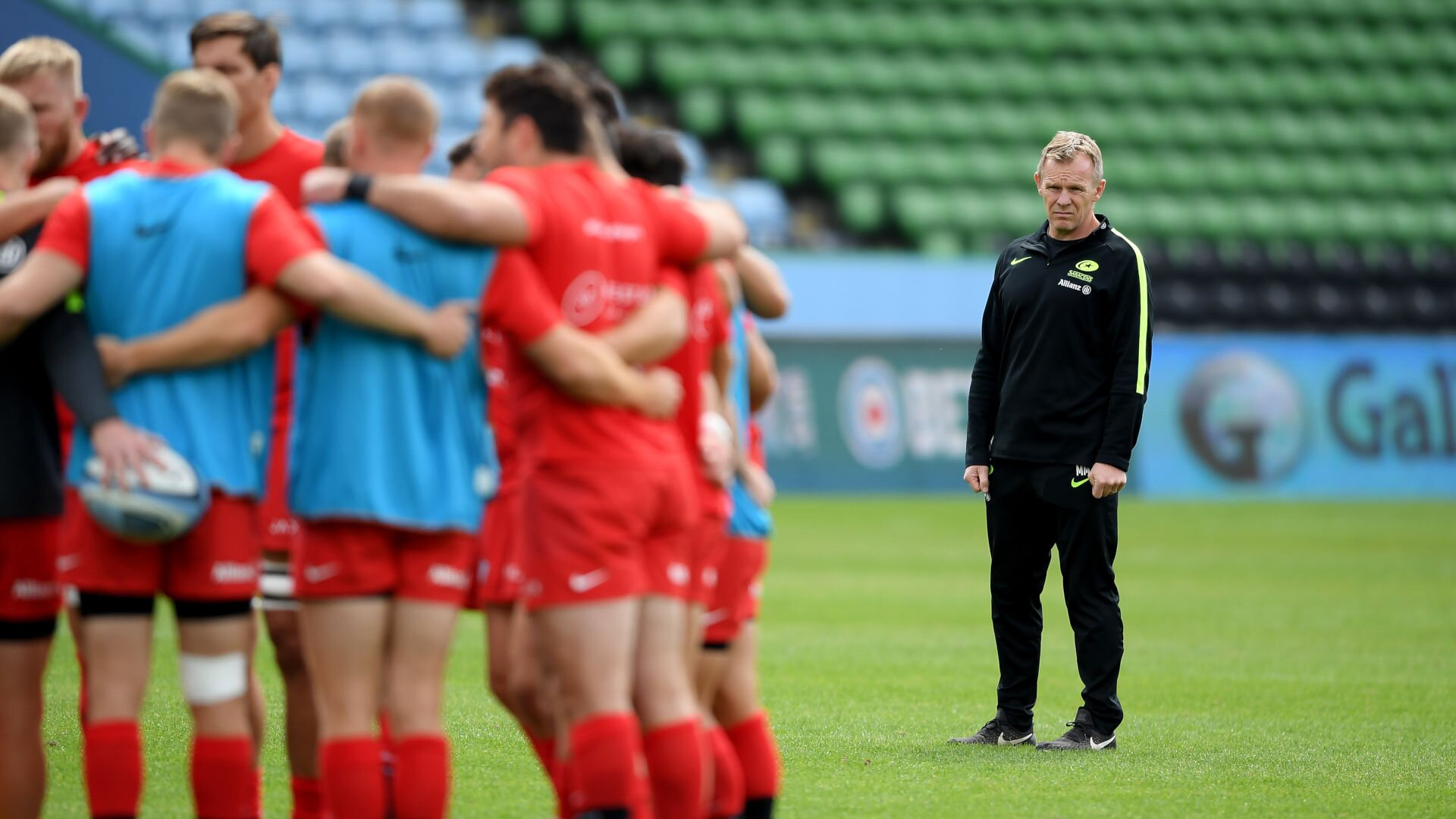 'Not much to lose, everything to gain': McCall on Saracens' mission improbable