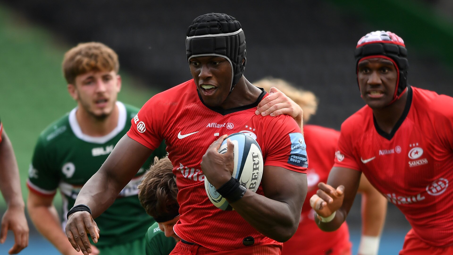 Saracens continue preparations for European clash by thrashing London Irish