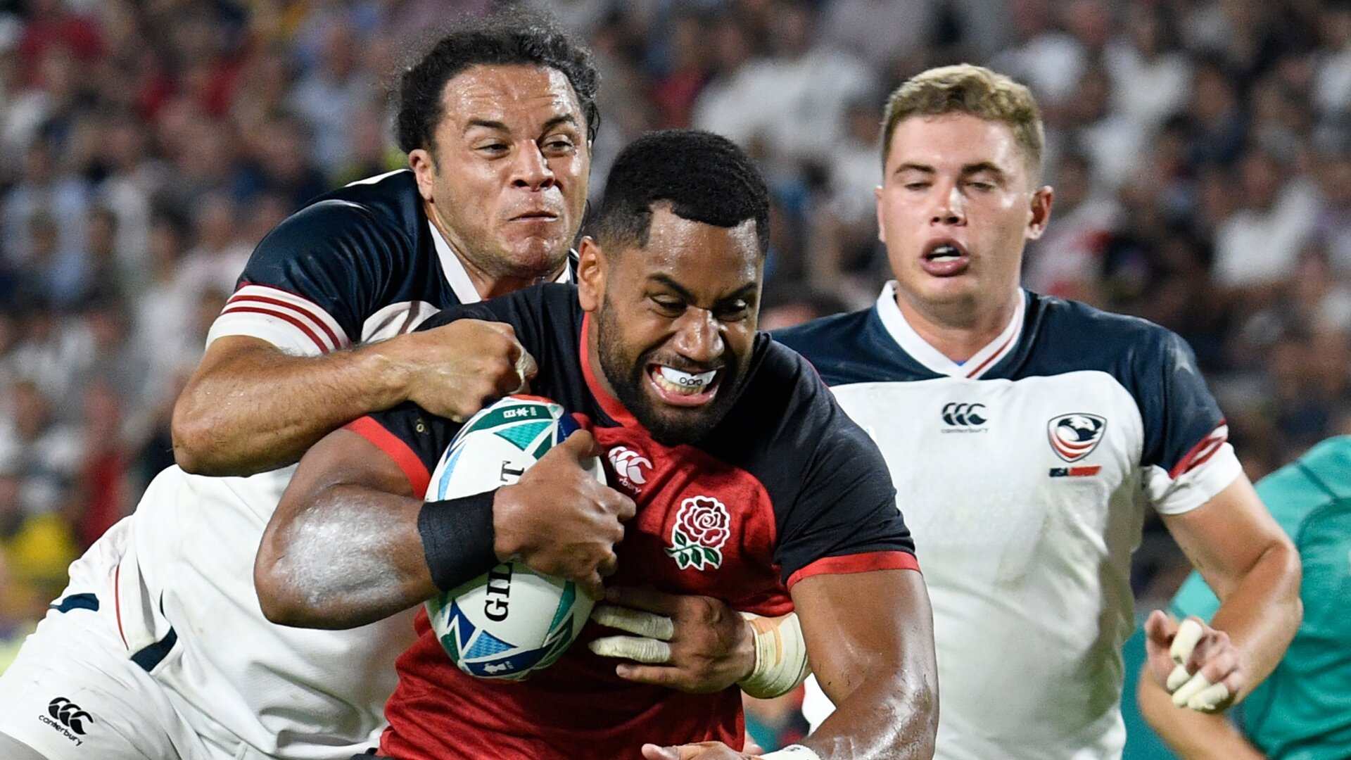Cokanasiga stars in first game since England beat USA 12 months ago