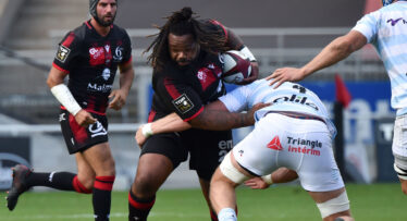 Be afraid... Bastareaud is warming up to life as a No.8