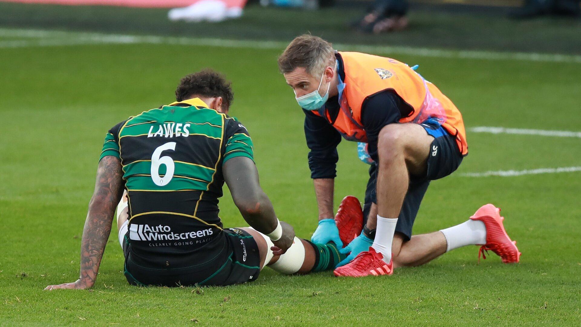 Northampton issue statement on Courtney Lawes' injury