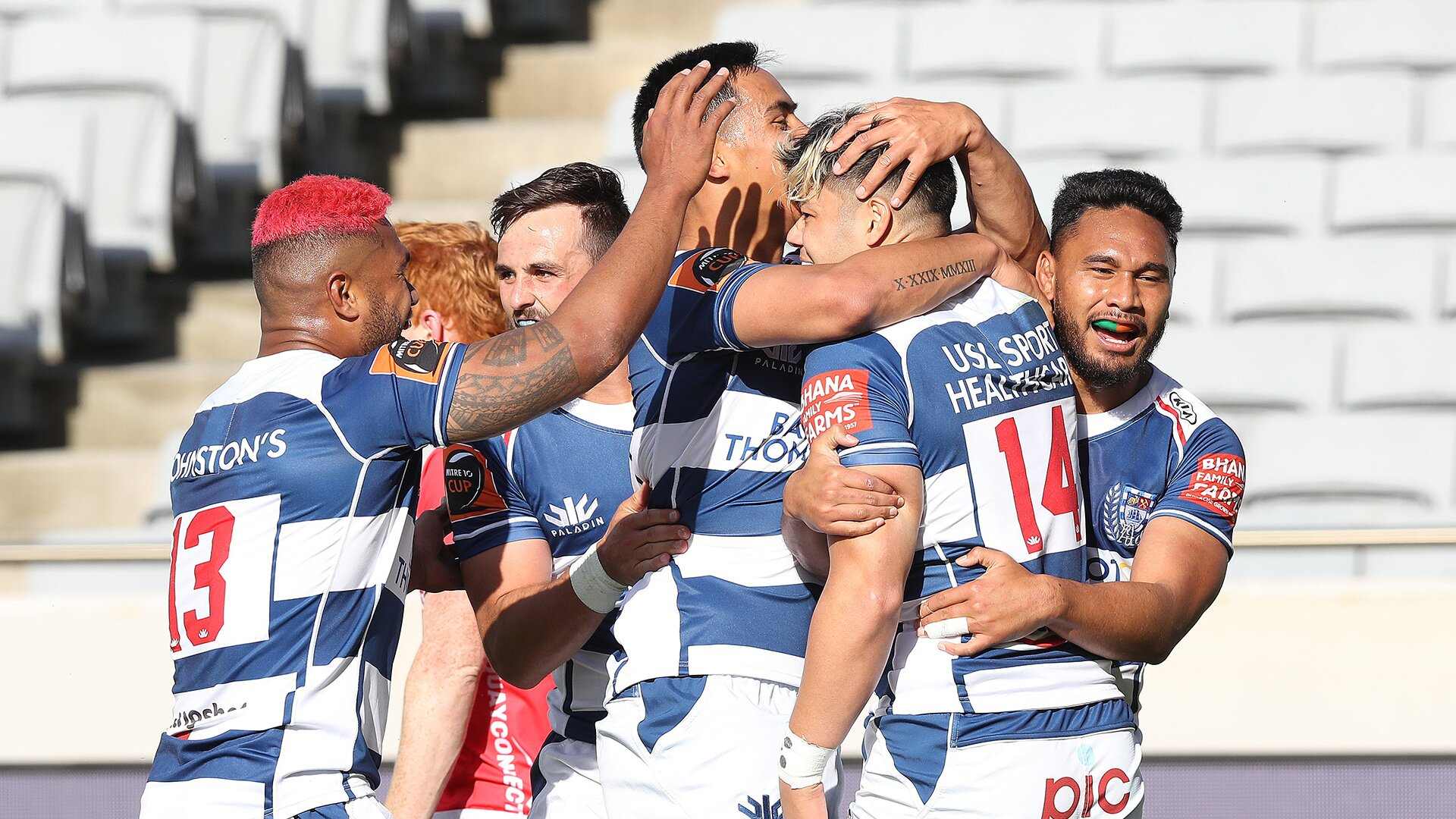 Auckland go top of Mitre 10 Cup Premiership with statement win over defending champions