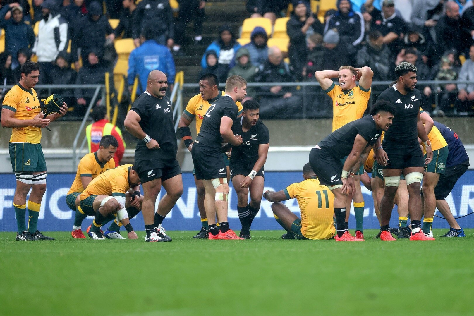 'One of the most incredible Test matches' - All the best social media reaction after thrilling Bledisloe Cup opener