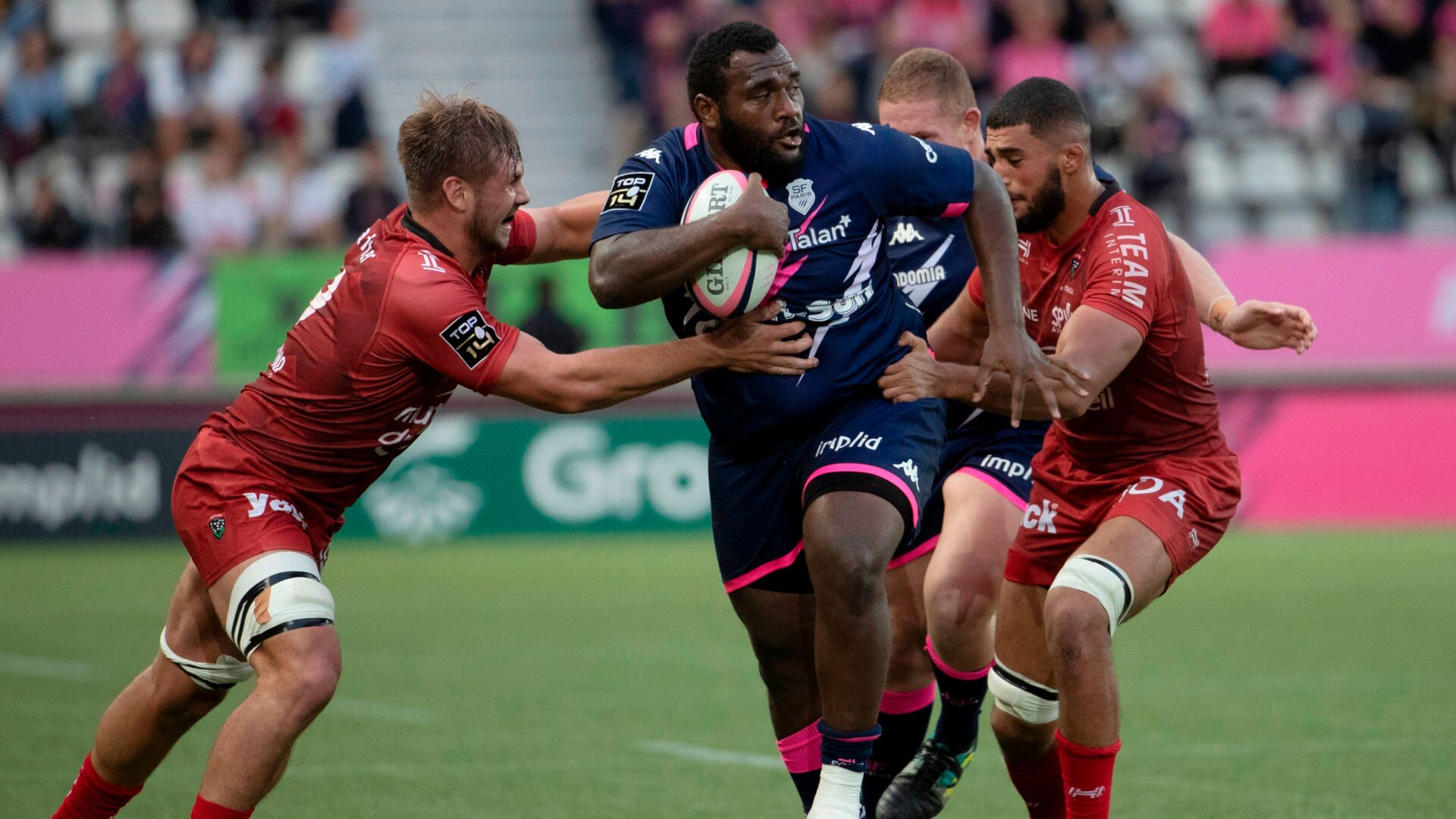 'Unacceptable' - 130kg Stade Francais prop blasted for moment of madness