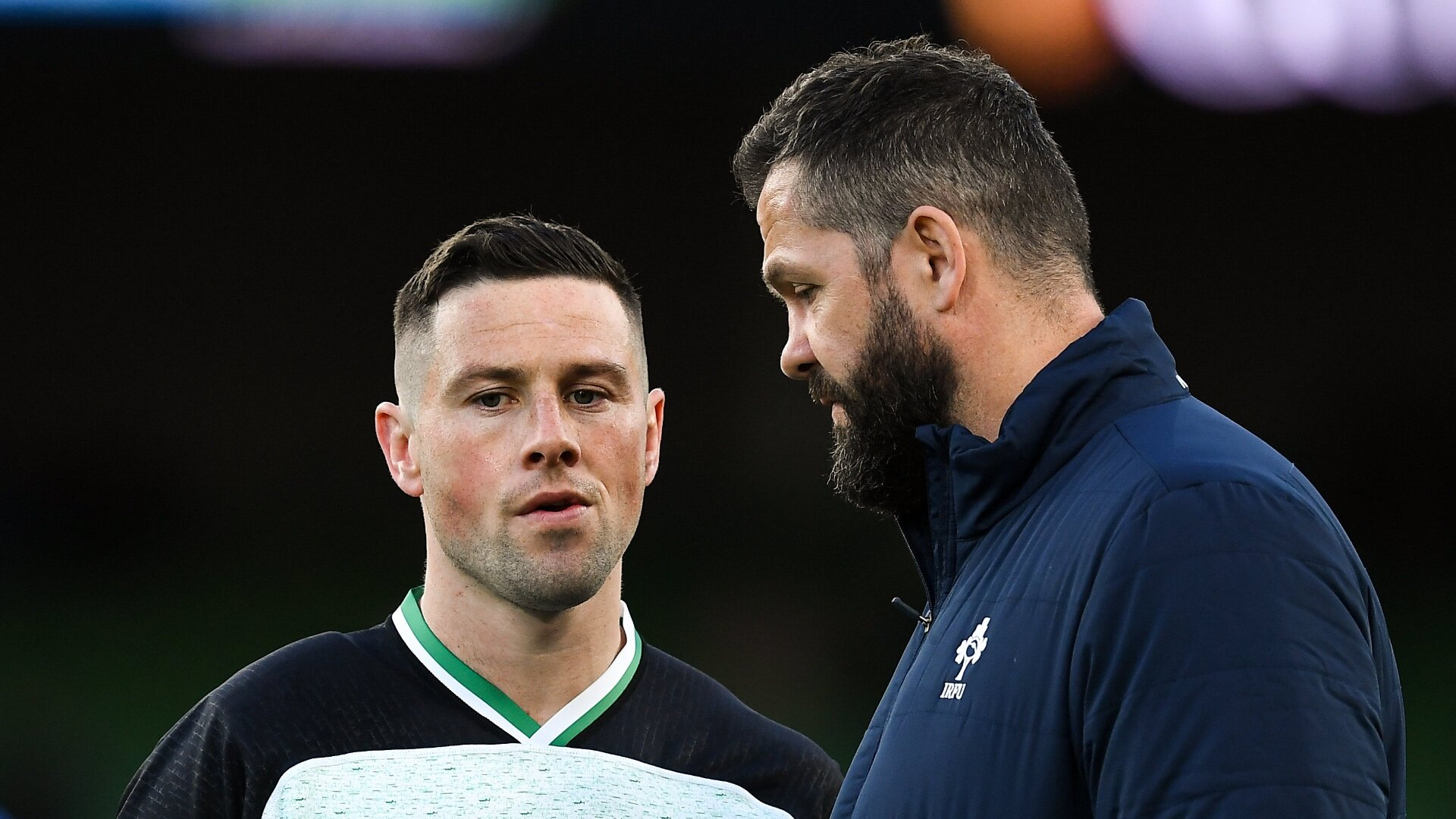 Andy Farrell breaks his silence on the Ireland axing of John Cooney