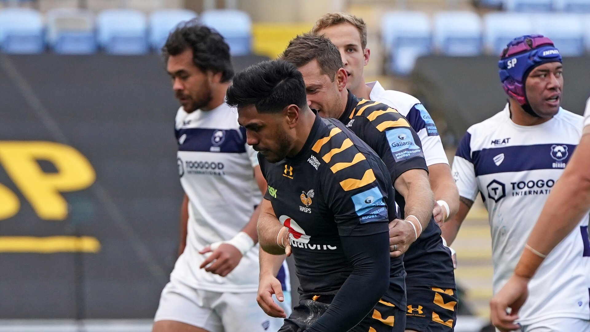 Video: Malakai Fekitoa's cracking early try was his painful last act in Premiership semi-final win