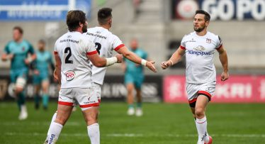 Louis Ludik scores twice as Ulster dominate Dragons at the Kingspan