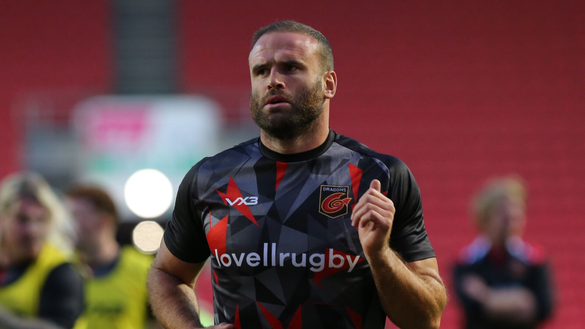 He's 33 and a qualified doctor but Jamie Roberts fears retiring from rugby