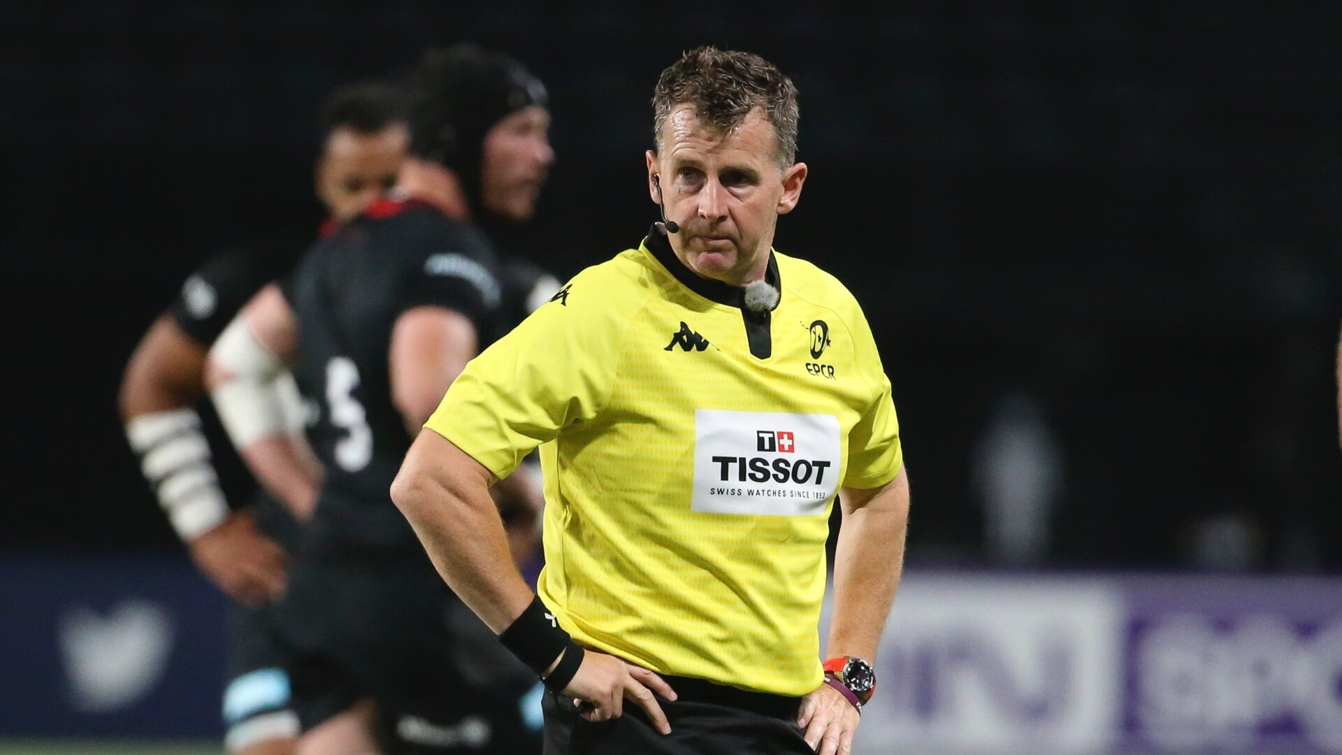 Match referee Nigel Owens has had his say on Saturday's Exeter vs Racing final