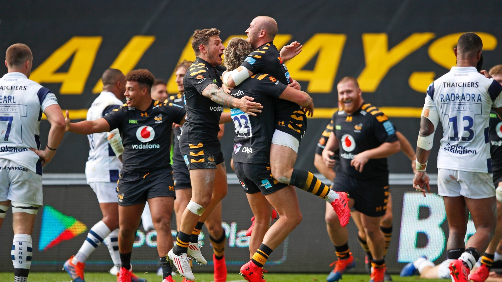 4 Wasps players test positive for Covid along with 3 staff