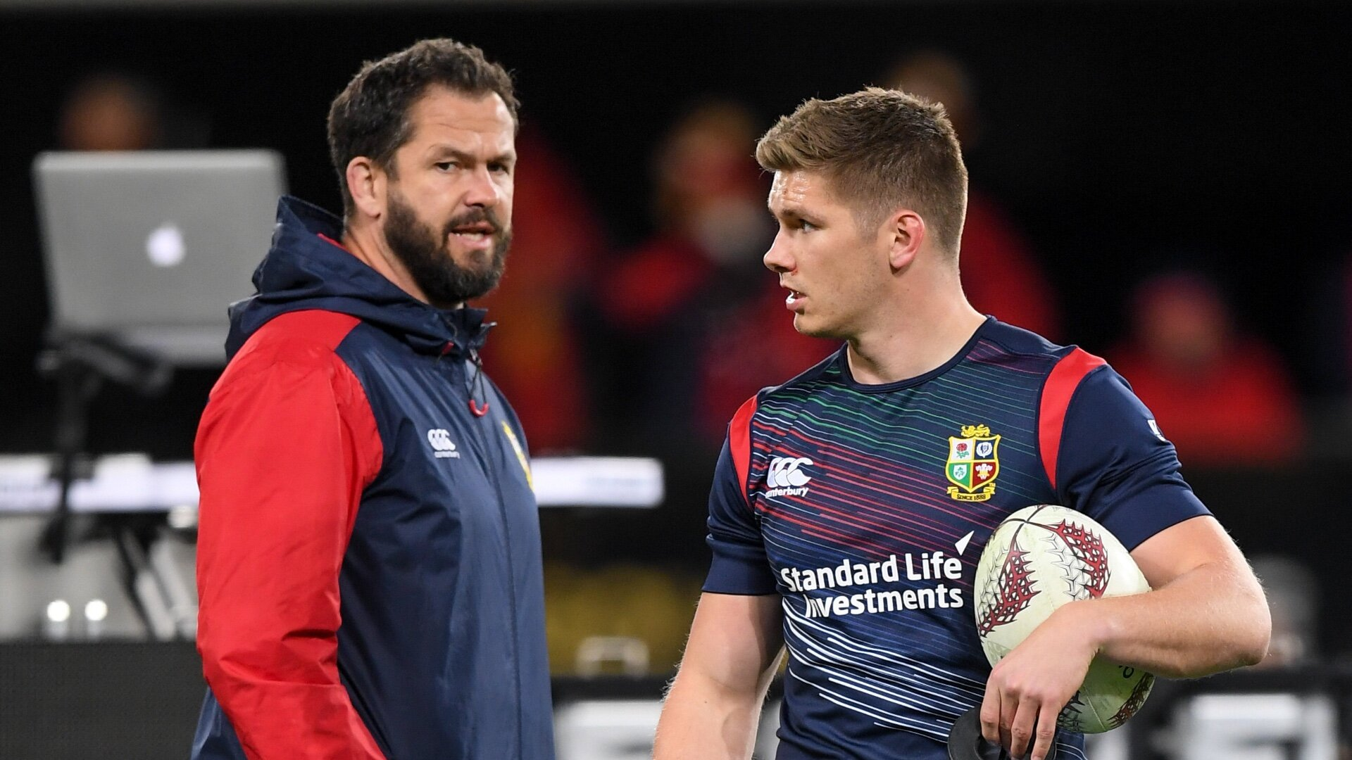 Lions squad could accommodate as few as 35 players, Ireland boss Farrell in frame for assistant's role
