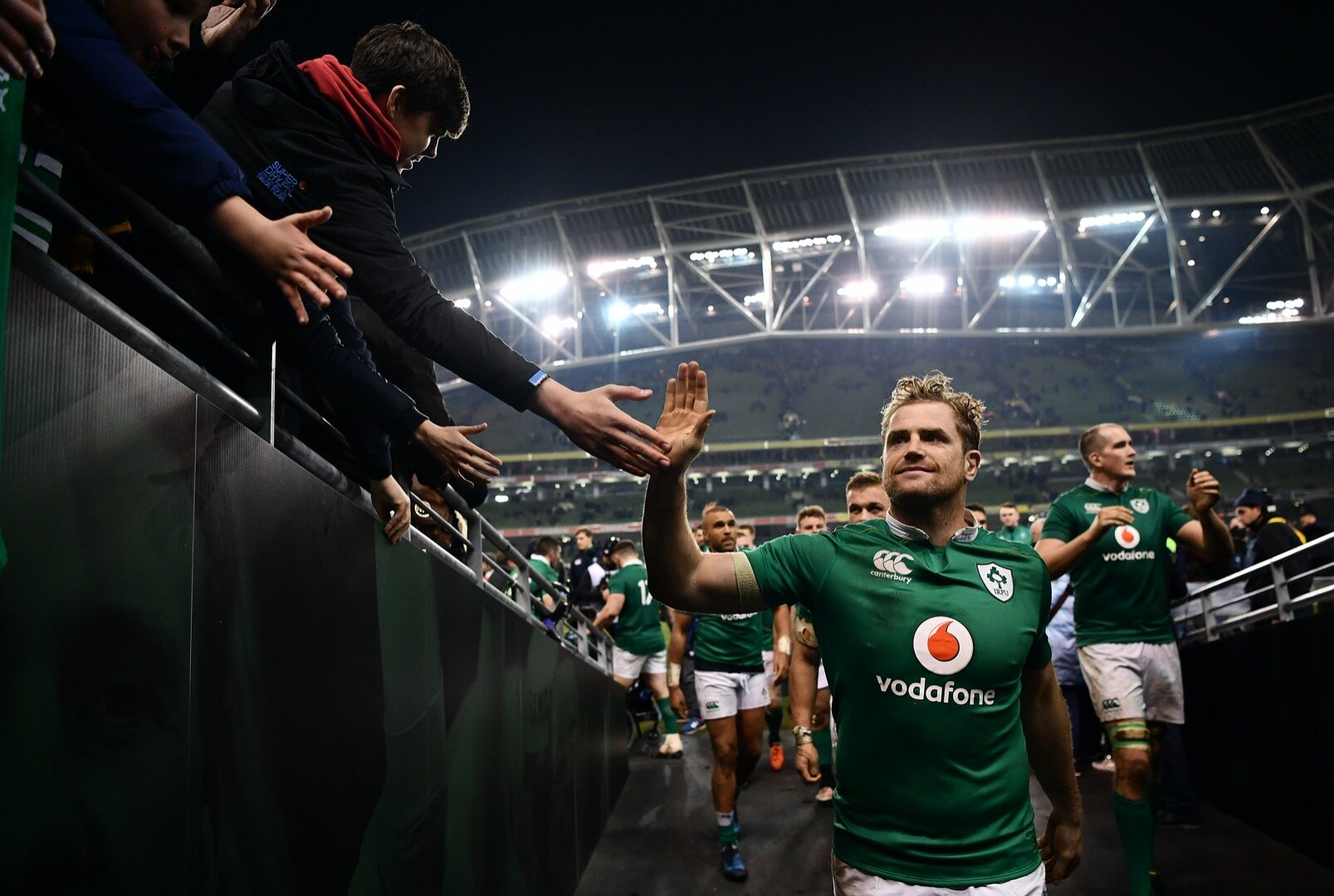 'You wanted to make the Aviva its own kind of futuristic fortress, a place to feel proud in'