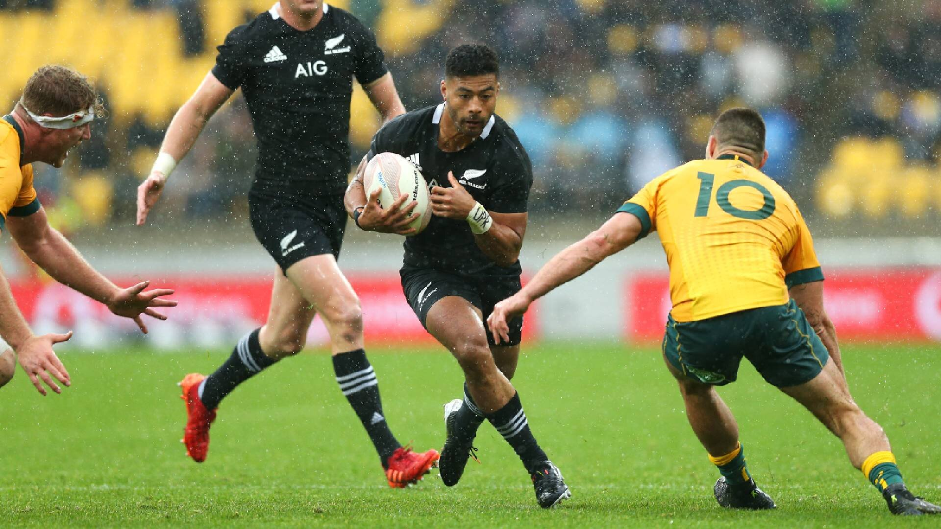 Bledis-low blow: The 'dirty' tactic Wallabies got away with on All Blacks star Richie Mo'unga