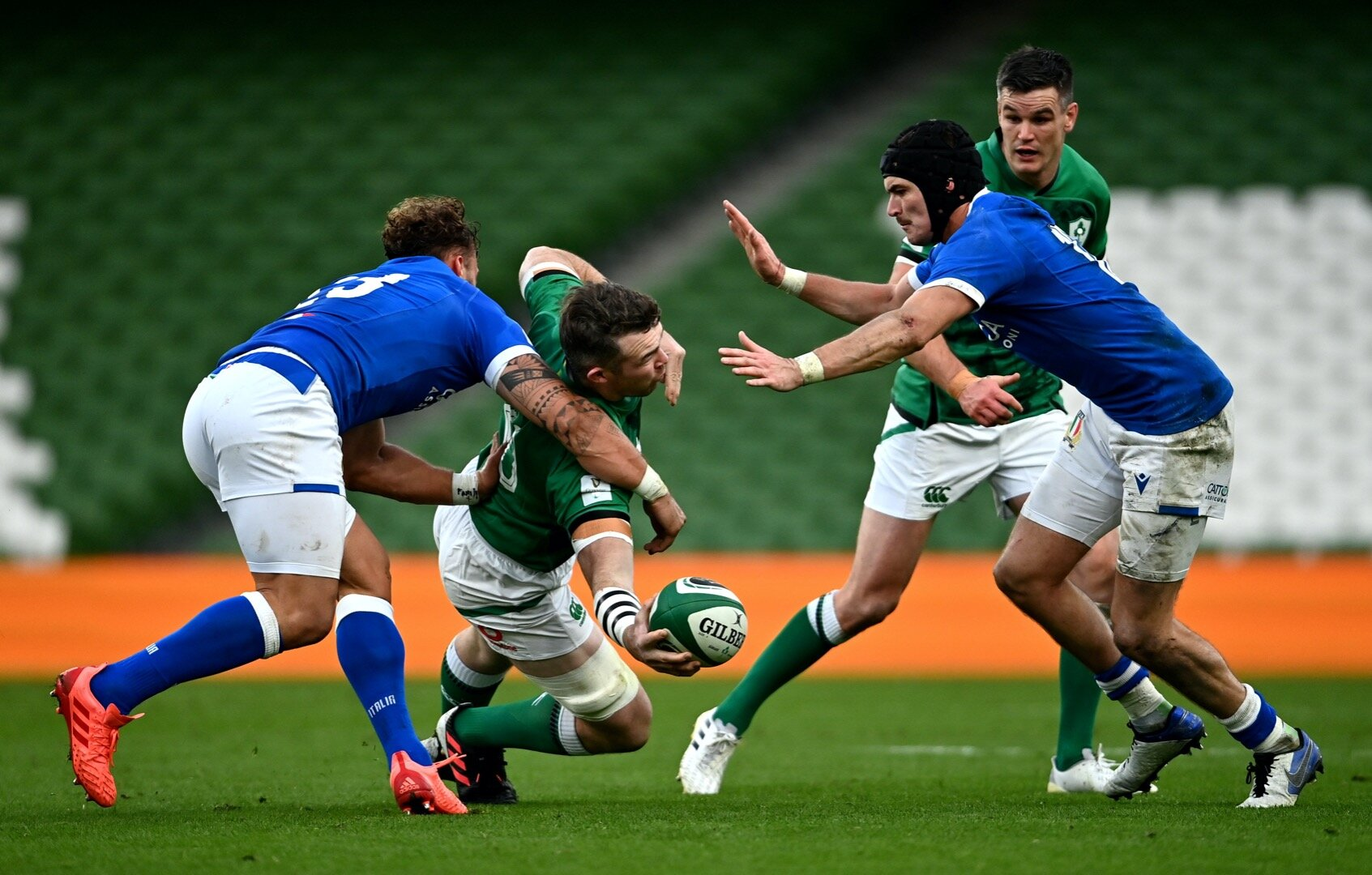 'You're given the license to do it' - O'Mahony praises focus on skills work after glorious offload against Italy